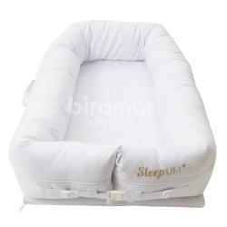 3db7b72720 Bercinho Portátil Ninho para Bebê Sleep UM Piquet Branco