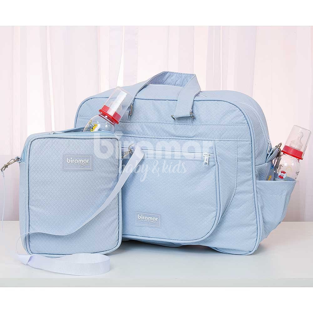 5282d06c469fa Porta Mamadeira para Bebê Térmico Azul - Baby Enxoval