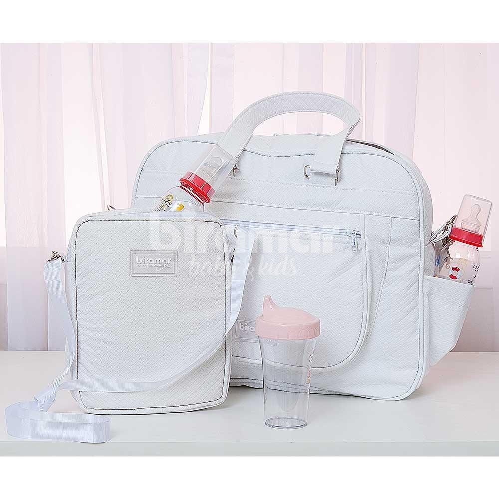 8eedc6b68e759 Porta Mamadeira para Bebê Térmico Branco - Baby Enxoval