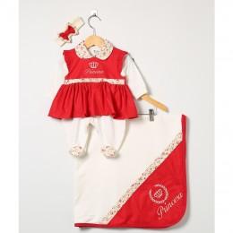 Saída maternidade para sua menina com os melhores preços! - BALILA BABY 20e74383158