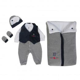 Saída maternidade para seu menino com os melhores preços! - BALILA BABY 96cda7bfbef