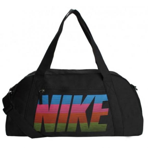 6aea67774 Bolsa Esportiva Nike Gym Club BA5490 011 Preto - Alças Duplas - Bessalle