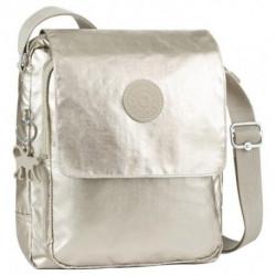 ce072aa9b Bolsa Kipling Netta BP K6551239W Silver Bege
