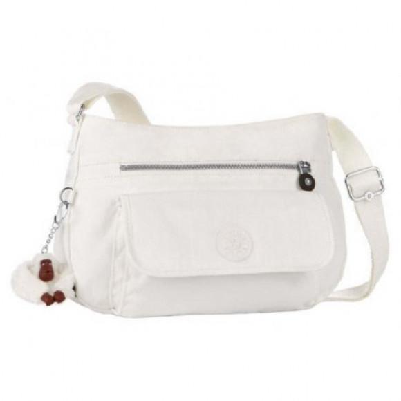 21cfd111c Bolsa Kipling Syro K13163000 White (Branco) - Bessalle