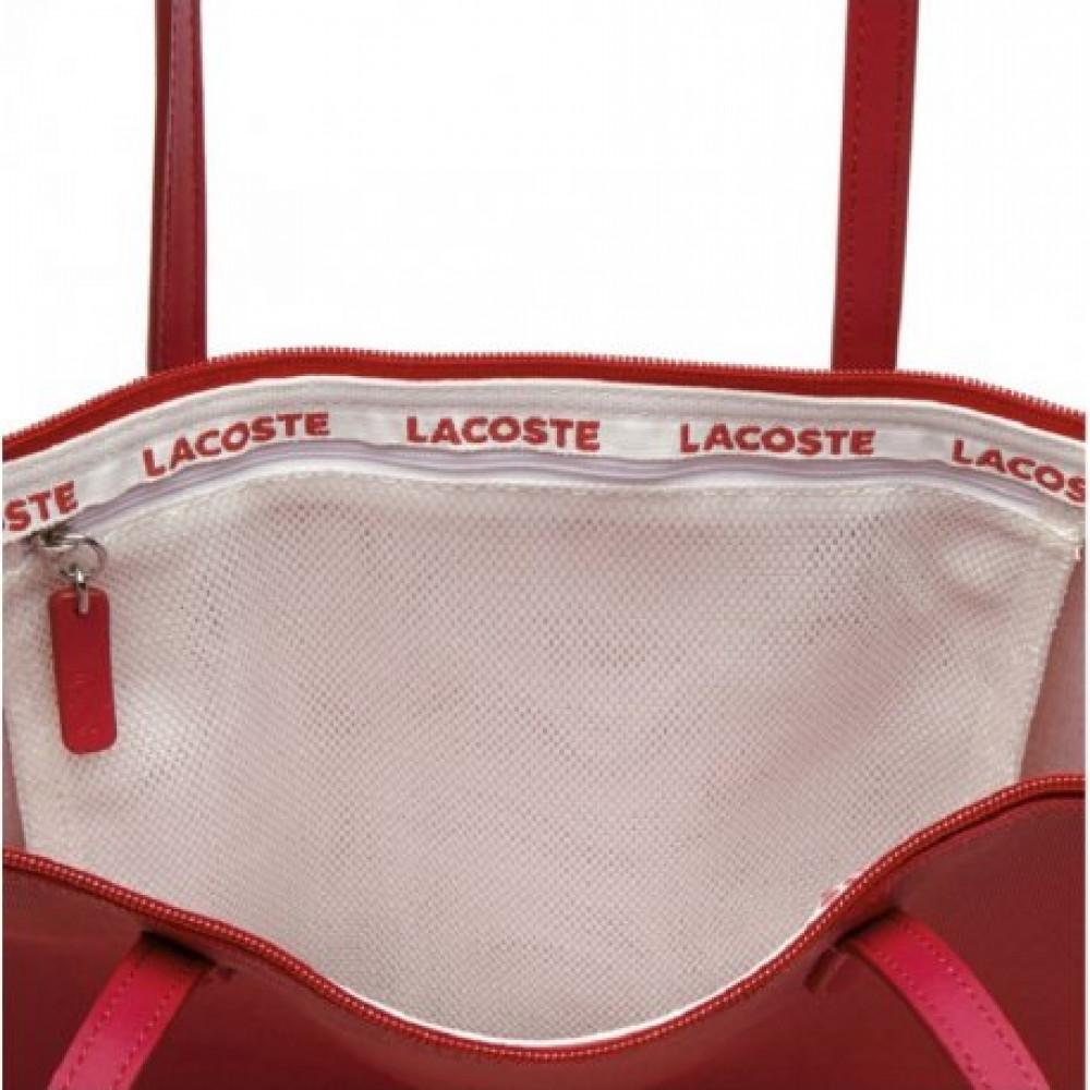 7ba8b7fb3861d Bolsa Lacoste NF1890PO 185 feminina-Cor vermelho - Bessalle