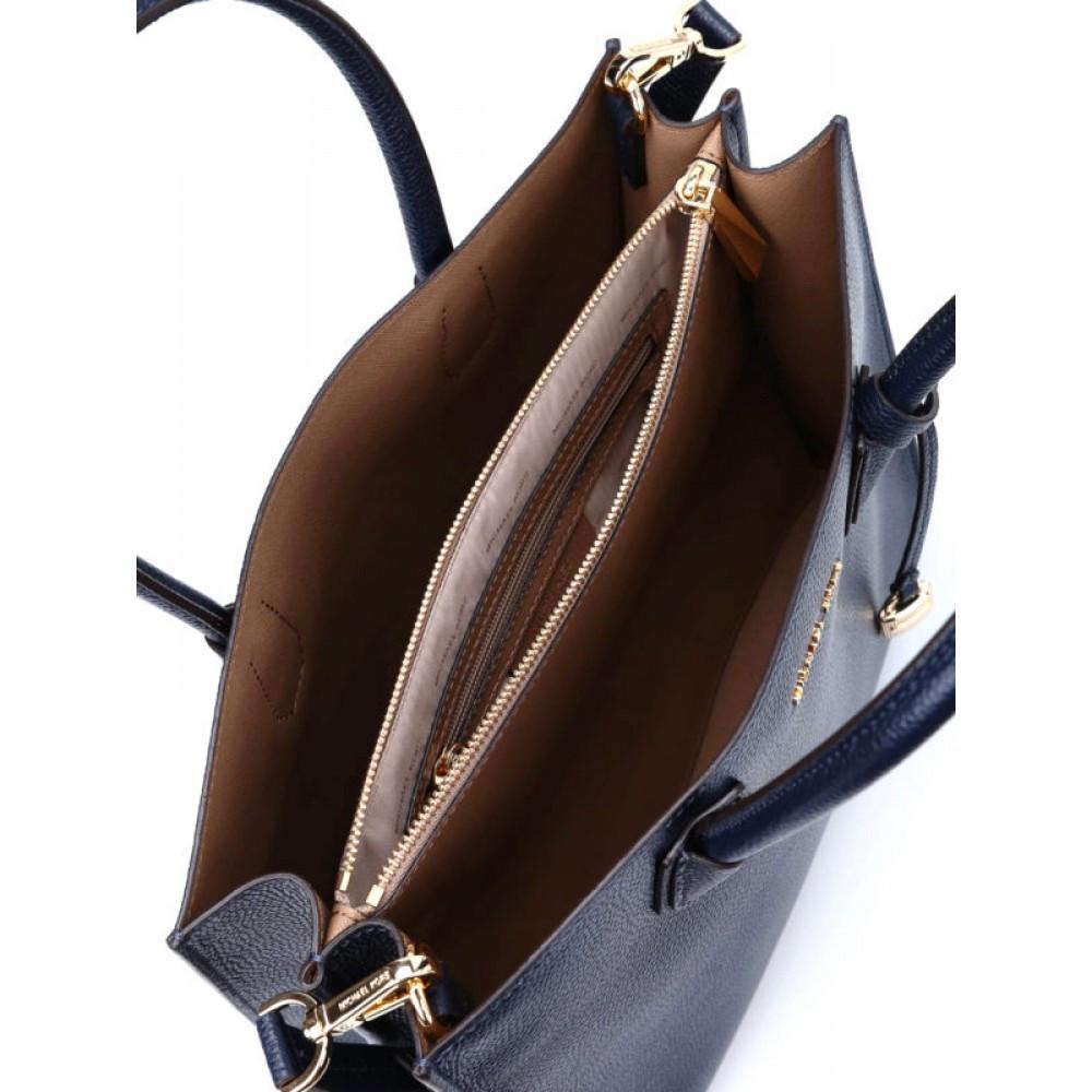 Bolsa Michael Kors 30F6GM9T3L - Couro de alta qualidade, azul - Bessalle 63896d3142