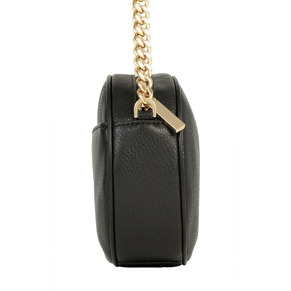 df2505729 Bolsa Michael Kors 30H6GGNM2L Preto-Uma alça ajustável feita de Couro -  Bessalle