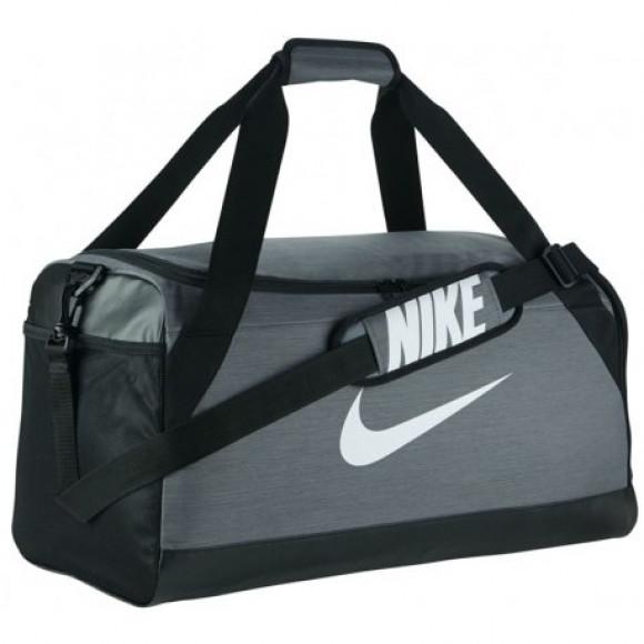 f8fb1a457d2e8 Bolsa Nike Brasilia BA5334 657 Masculino - Cinza - Bessalle