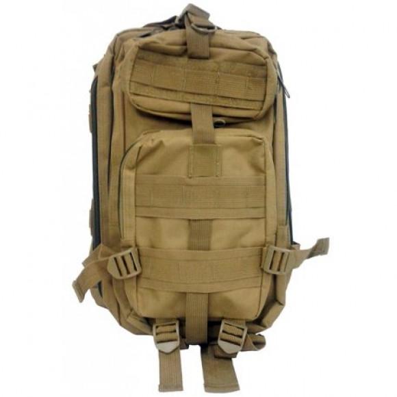 2e5f8e8a4 Mochila tática combat BK543 marrom - Bessalle