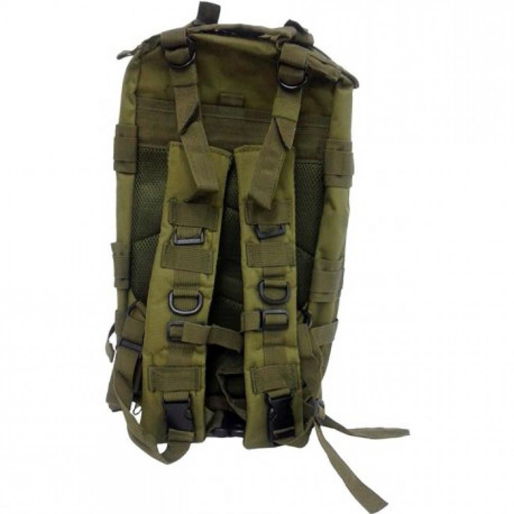 439853867 Mochila tática Combat BK543 Verde - Bessalle