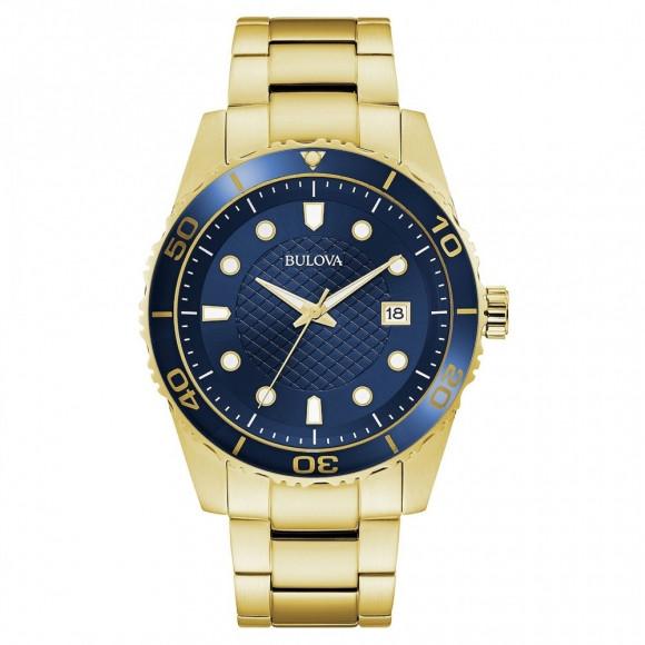 ecf675a87bc Relógio Bulova 98A197 - Resistência à água até 30 metros
