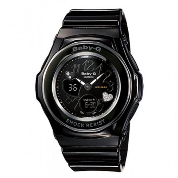 04aad7372ba Relógio Casio Baby-G BGA-102-1B - Resistência à água até 100m - Bessalle
