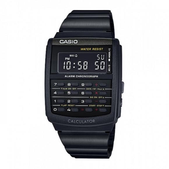 5d9db5c784a Relógio Casio Data-Bank CA-506B-1A-Resistência à água - Bessalle