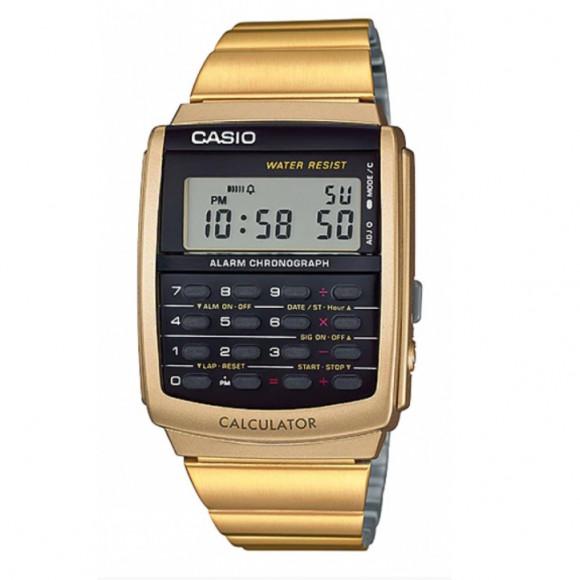 a8295c9dfdc Relógio Casio Data-Bank CA-506G-9A-Resistência à água até 10m - Bessalle