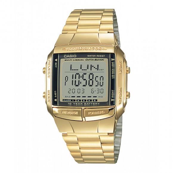 e16f692e184 Relógio Casio Data-Bank DB-360G-9A-Resistência á água até 50m - Bessalle