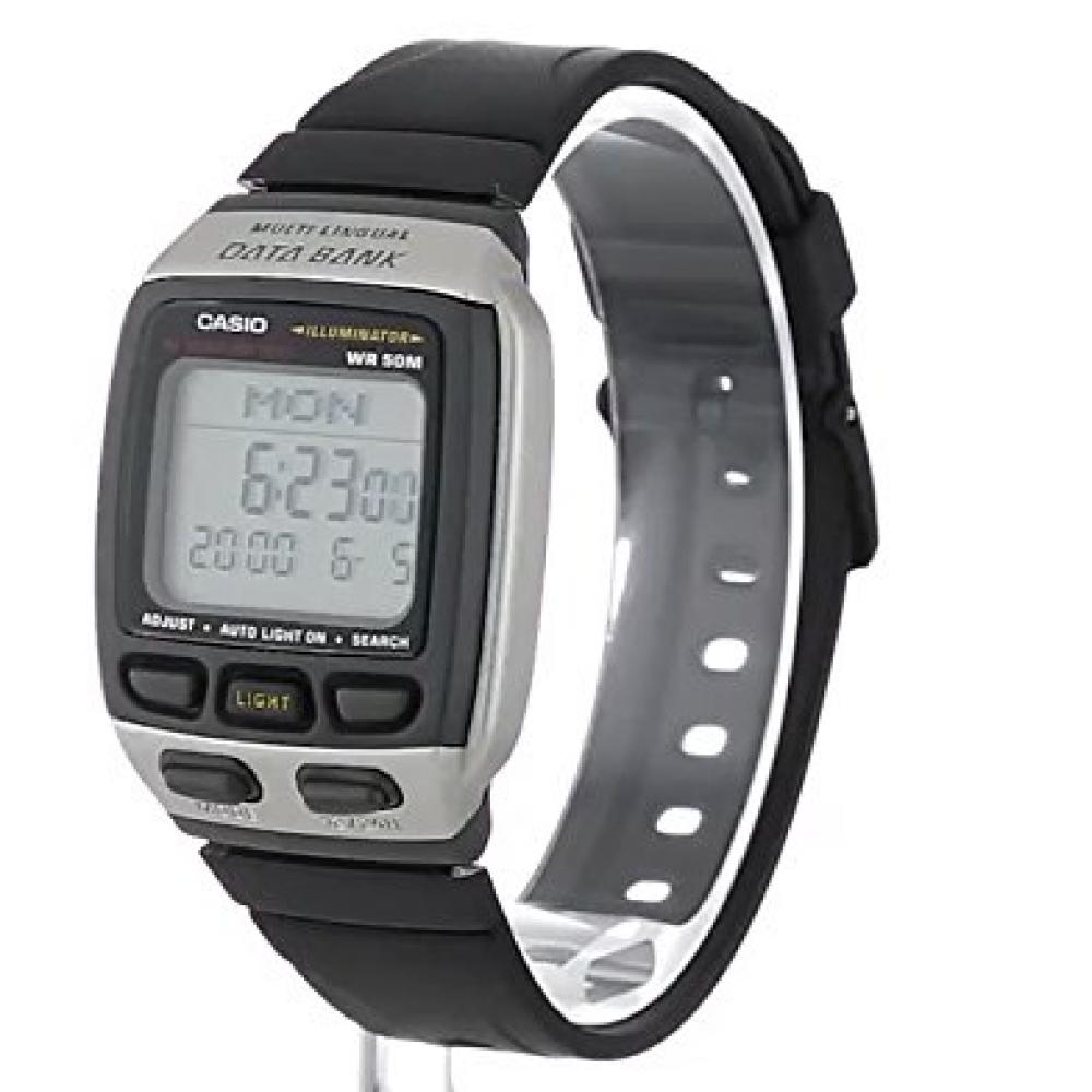 0a1e85eefc9 Relógio Casio Masculino Data Bank Caixa E Pulseira Em Resina 5