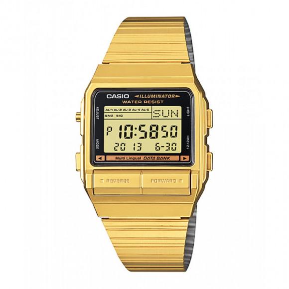 c260e1dade2 Relógio Casio Data-Bank DB-380G-1-Resistência à água até 30m - Bessalle