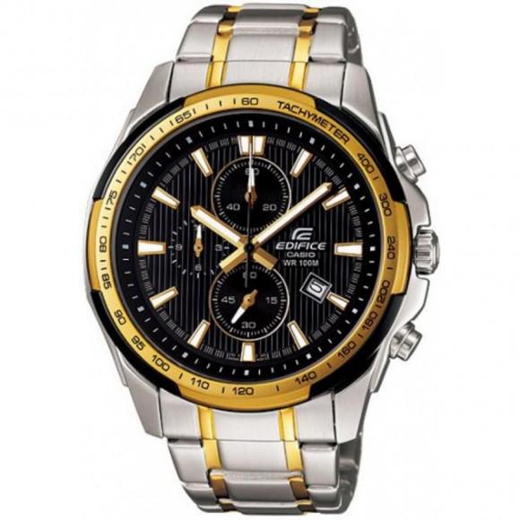 6b87633ef48 Relógio Casio EF-566SG-1A-Resistência à água até 100 metros - Bessalle