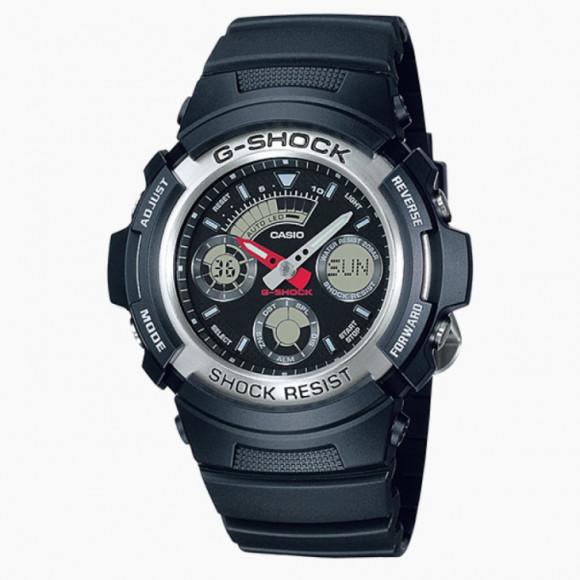 81fa381b6fd Relógio Casio G-Shock AW-590-1A-Resistência à água até 200 metros ...