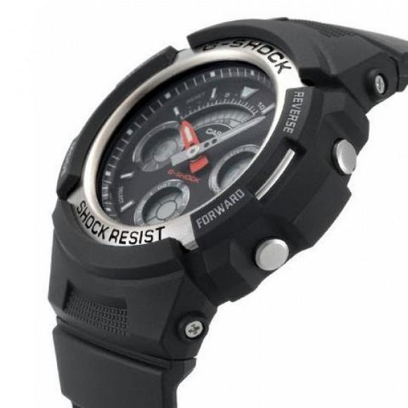 1915b84c93c Relógio Casio G-Shock AW-590-1A-Resistência à água até 200 metros ...