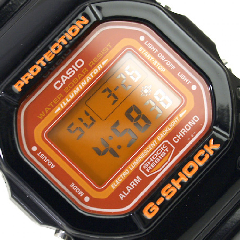 7835469f0b9 Relógio Casio G-Shock DW-5600CS-1D-Resistência à água até 200m ...
