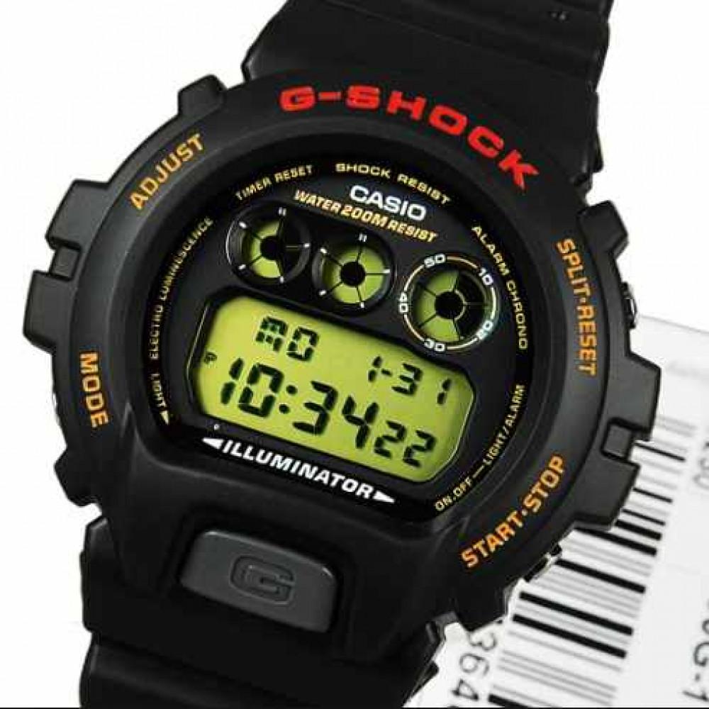 f2dacd7537e Relógio Casio G-Shock DW-6900G-1V-Resistência à água até 200m - Bessalle