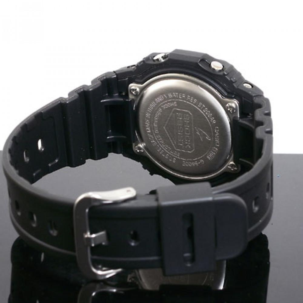 3dffc9d2276 Relógio Casio G-Shock G-5600E-1-Resistência à água até 200 metros - Bessalle
