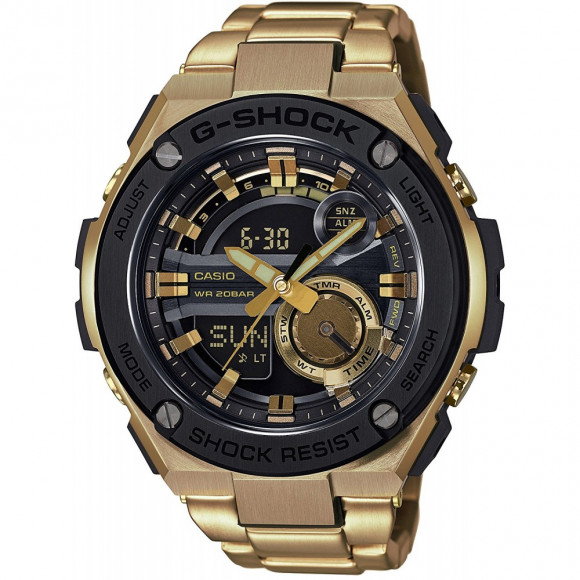 d117d39edeb Relógio Casio G-Shock G-Steel GST-210GD-1A - Bessalle
