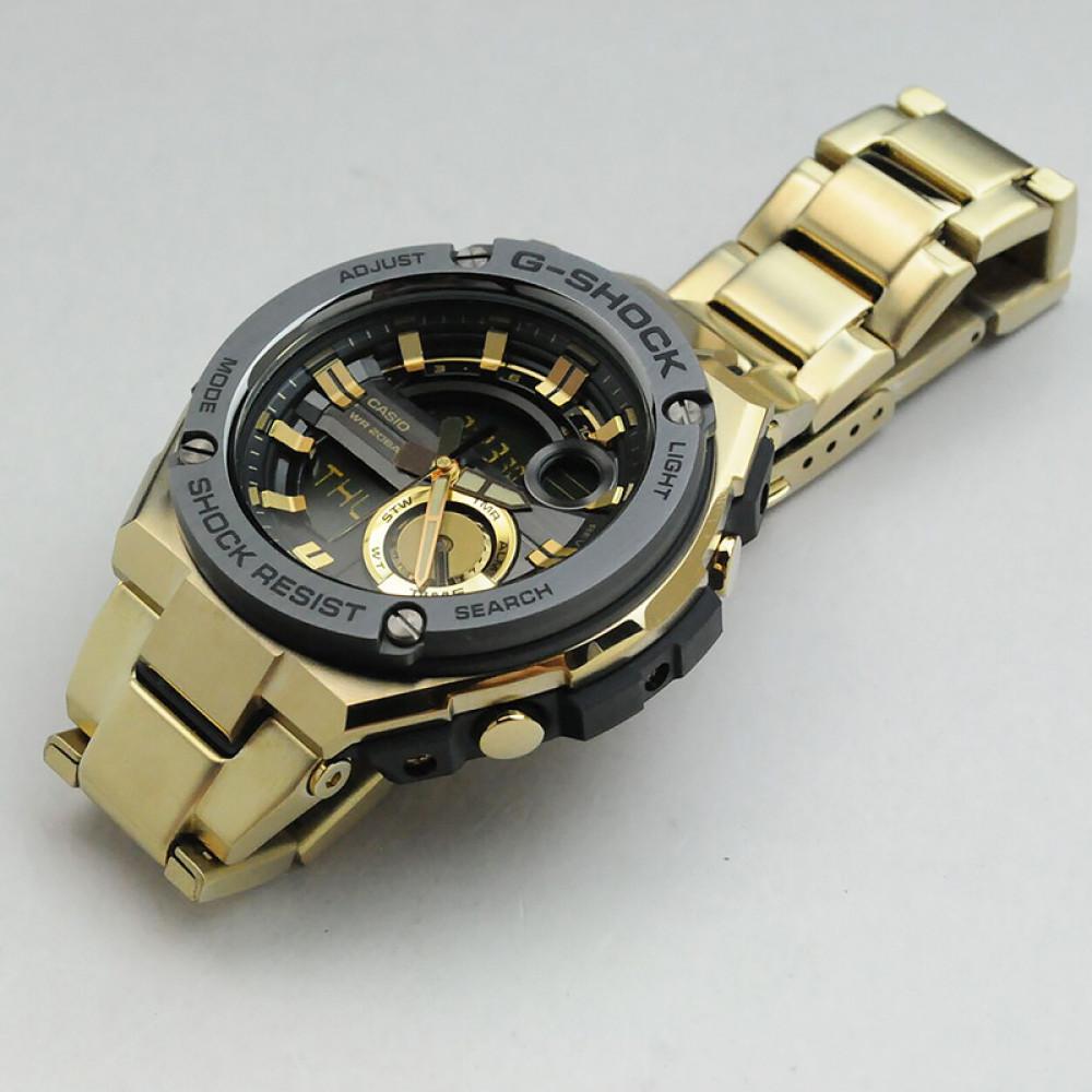 feda03135b0 Relógio Casio G-Shock G-Steel GST-210GD-1A - Bessalle