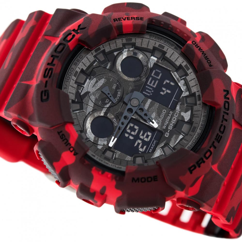 230db824421 Relógio Casio G-Shock GA-100CM-4A-Resistência à água até 200 metros -  Bessalle
