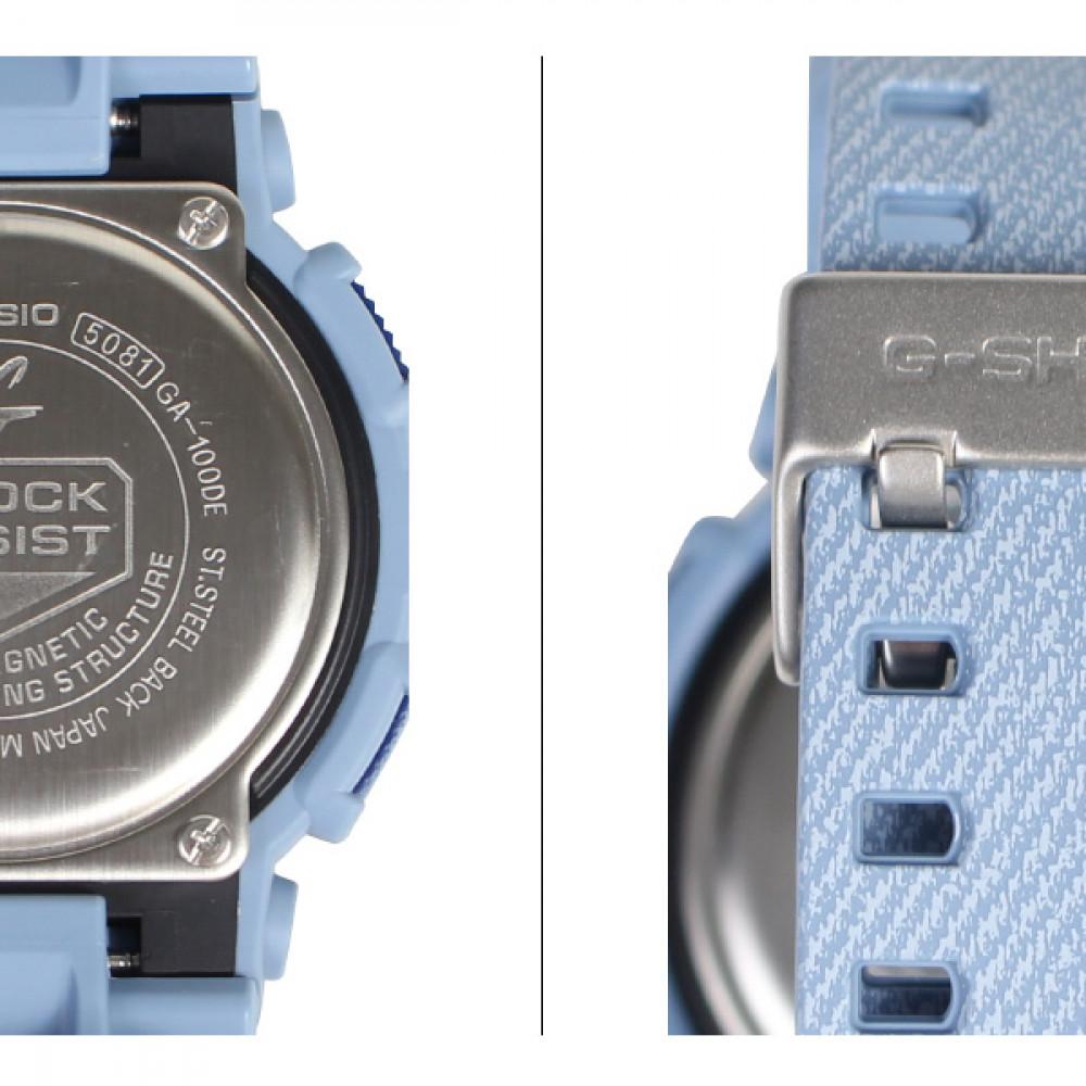 4791ba76795 Relógio Casio G-Shock GA-100DE-2A-Resistência à água até 200 metros -  Bessalle