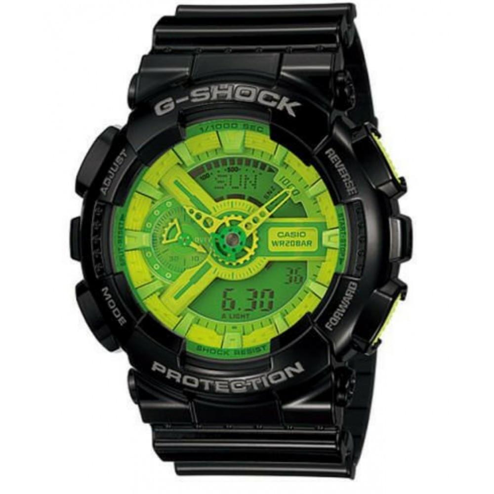 9b47b1c6c23 Relógio Casio G-Shock GA-110B-1A3-Resistência à água até 200 metros -  Bessalle