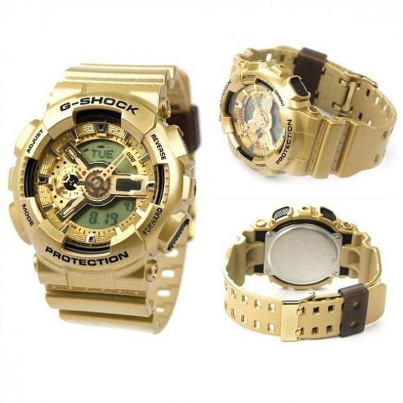 257f58dd5c5 Relógio Casio G-Shock GA-110GD-9A-Resistência à água até 200 metros ...