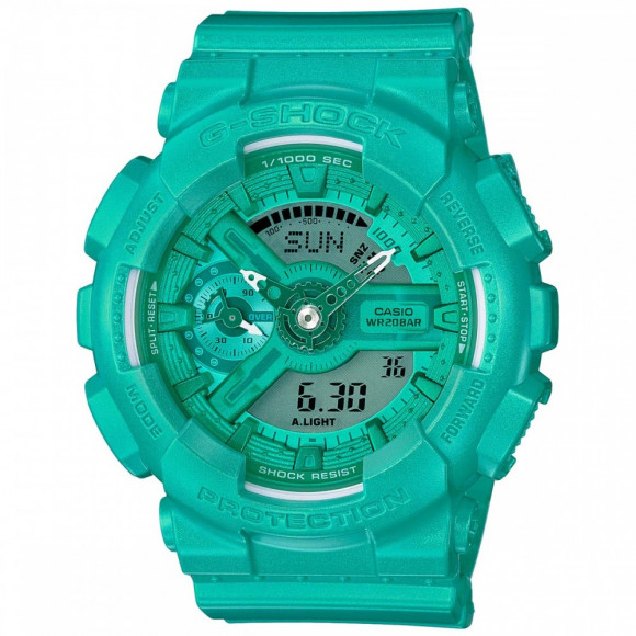 5210436b570 Relógio Casio G-Shock GMAS-110VC-3A-Resistência à água até 200 ...