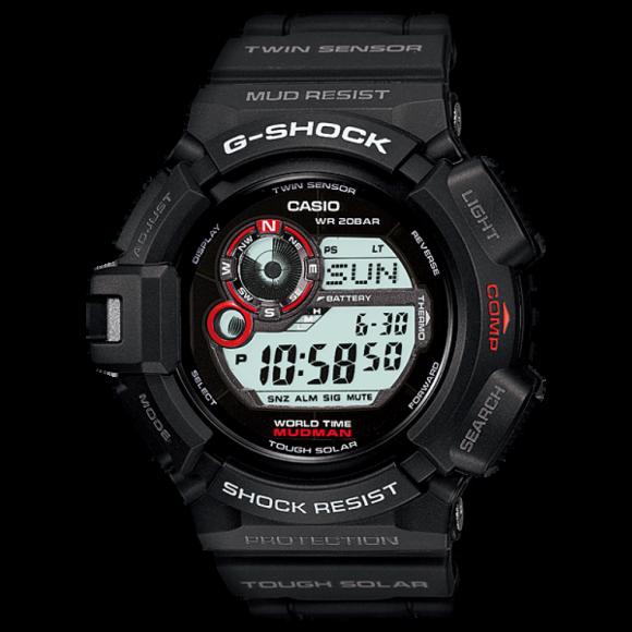 d7ca0183b7a Relógio Casio G-Shock MudMan G-9300-1-Resistência à água até 200m ...