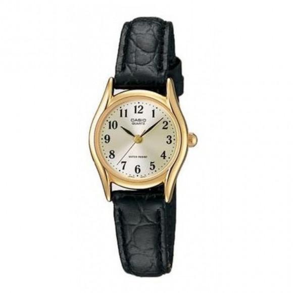 a77a0974aa5 Relógio Casio LTP-1094Q-7B2 - pulseira preta - Bessalle