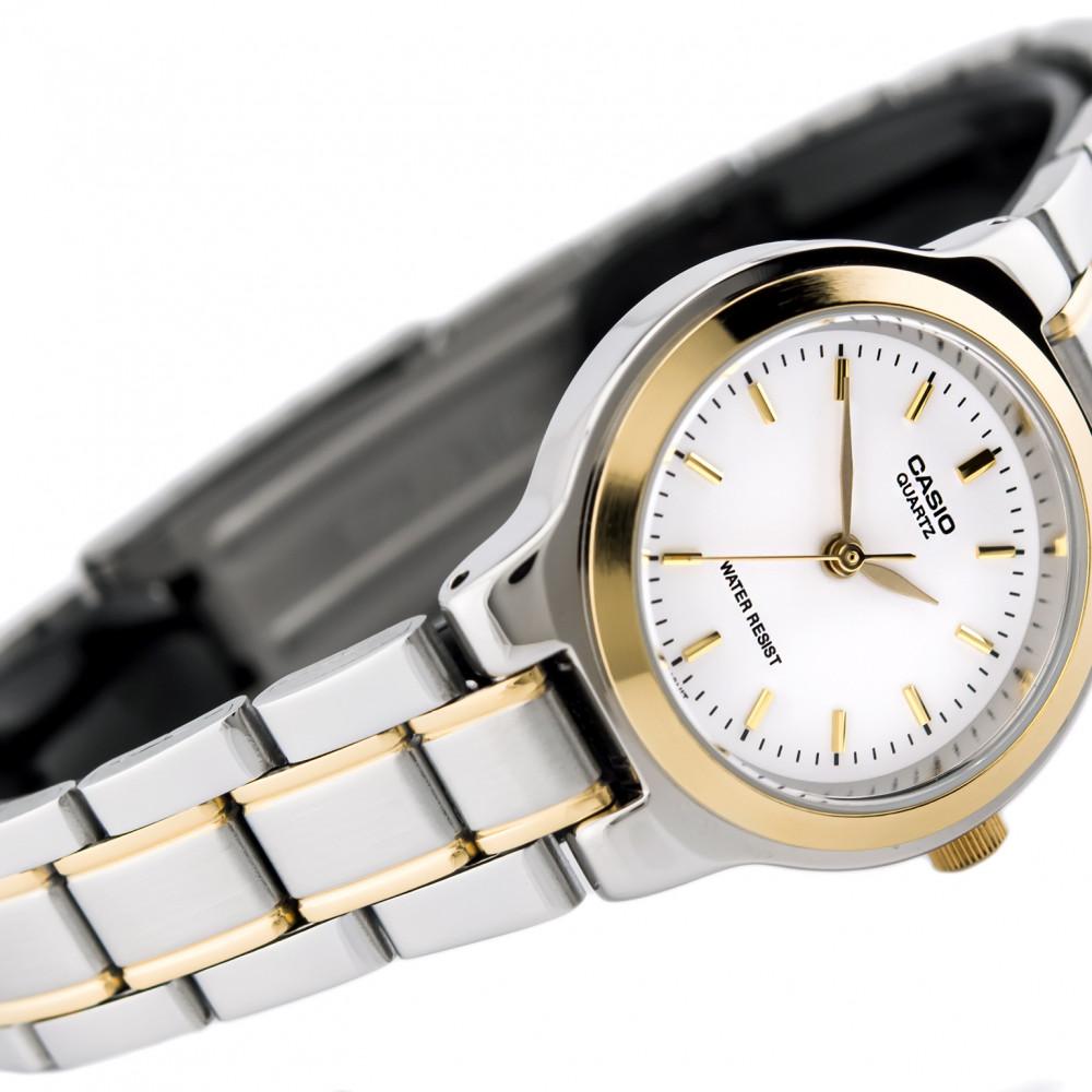 142aa73a3c5 Relógio Casio LTP-1131G-7A-Resistência à Água até 30m