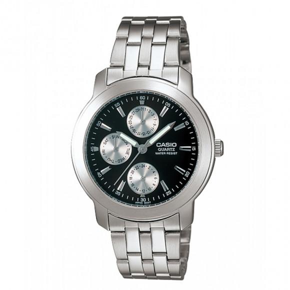 9ba5896c1ed Relógio Casio MTP-1192A-1A-Resistência à água até 50 metros - Bessalle