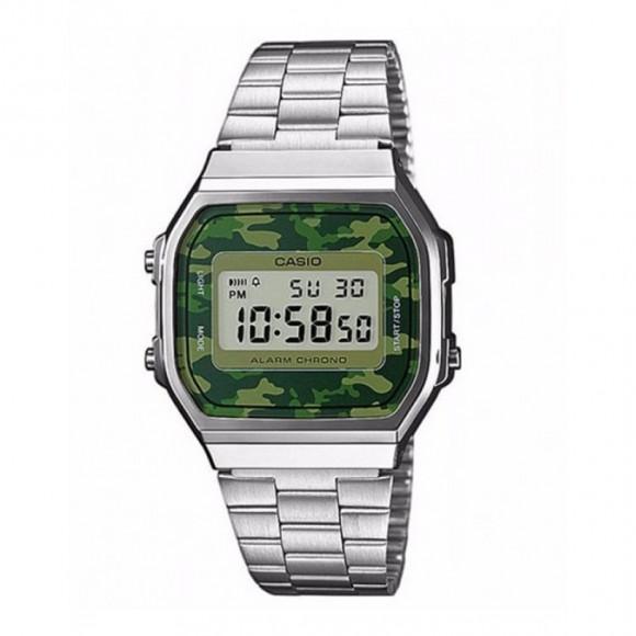 e96e674f3bf Relógio Casio Vintage A-168WEC-3D-Resistência à água até 30m - Bessalle