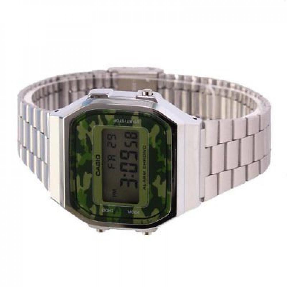 a796a07d06e Relógio Casio Vintage A-168WEC-3D-Resistência à água até 30m - Bessalle