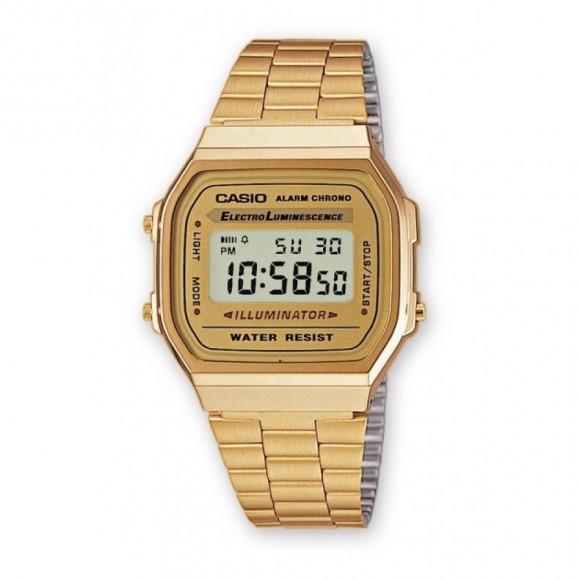 6e82e2d350b Relógio Casio Vintage A-168WG-9W-Resistência à água até 50 metros ...