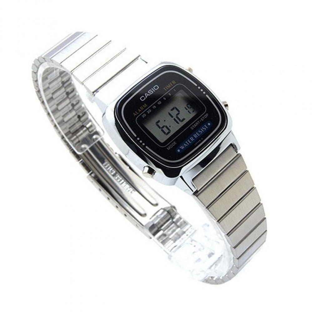 8a3bce04e3a Relógio Casio Vintage LA-670WD-1D-Resistência à água 30 metros - Bessalle