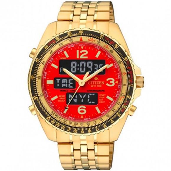 76a3f9bc279 Relógio Citizen JQ8003-51W-Resistência à água até 100 metros - Bessalle