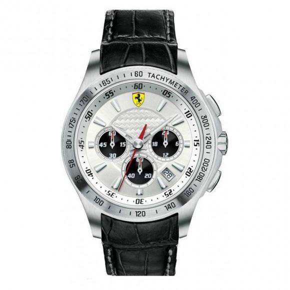 08a9e0ec129 Relógio Ferrari SF105 0830038-Resistência à água até 50 metros ...
