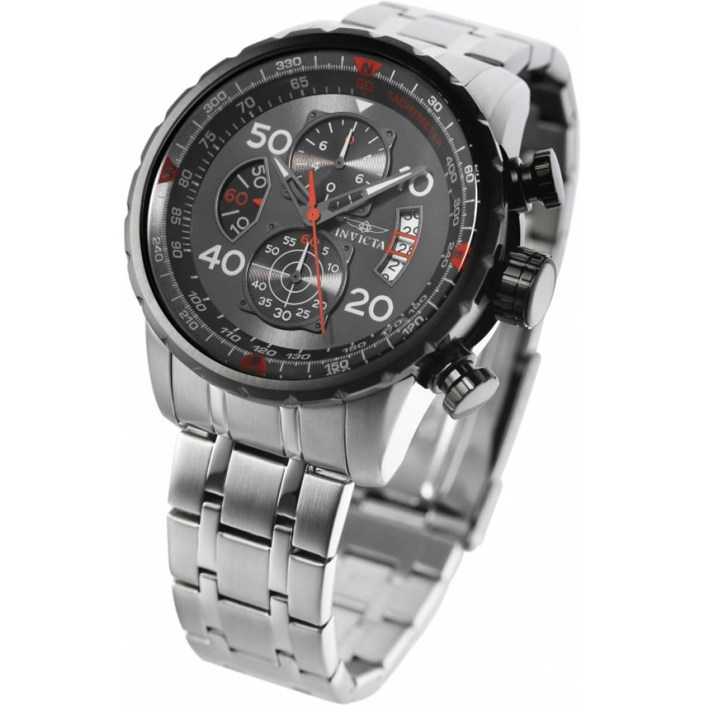16bd8d7a509 Relógio Invicta Aviator 17204 - Resistência à água até 200m - Bessalle