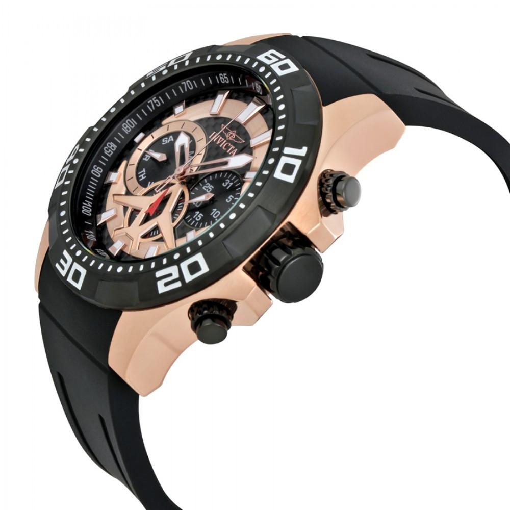 acb146a627b Relógio Invicta Aviator 21740 - Resistência à água até 100m - Bessalle