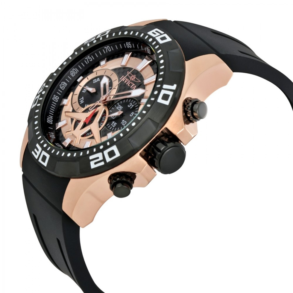 16693759b30 Relógio Invicta Aviator 21740 - Resistência à água até 100m - Bessalle