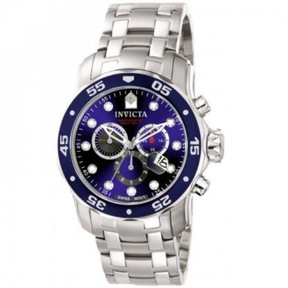 e1b0195e9c2 Relógio Invicta Pro Diver 0070 - Prata