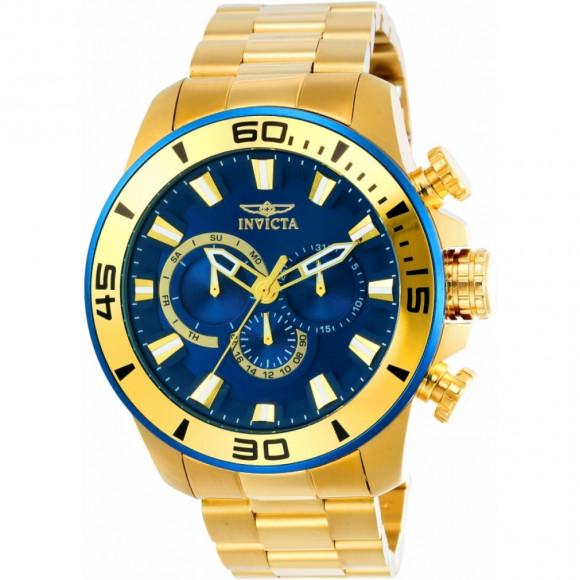 f258de747d6 Relógio Invicta Pro Diver 22587 - Resistência à água até 100m - Bessalle