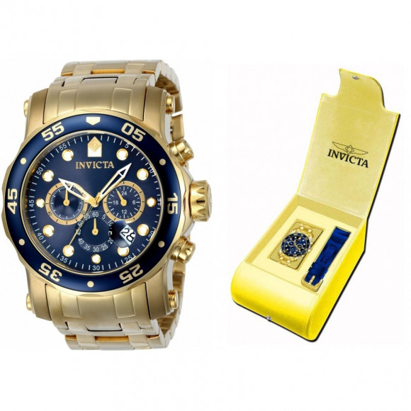 04a468a1df3 Relógio Invicta Pro Diver 23651 - Resistência à água até 200m - Bessalle